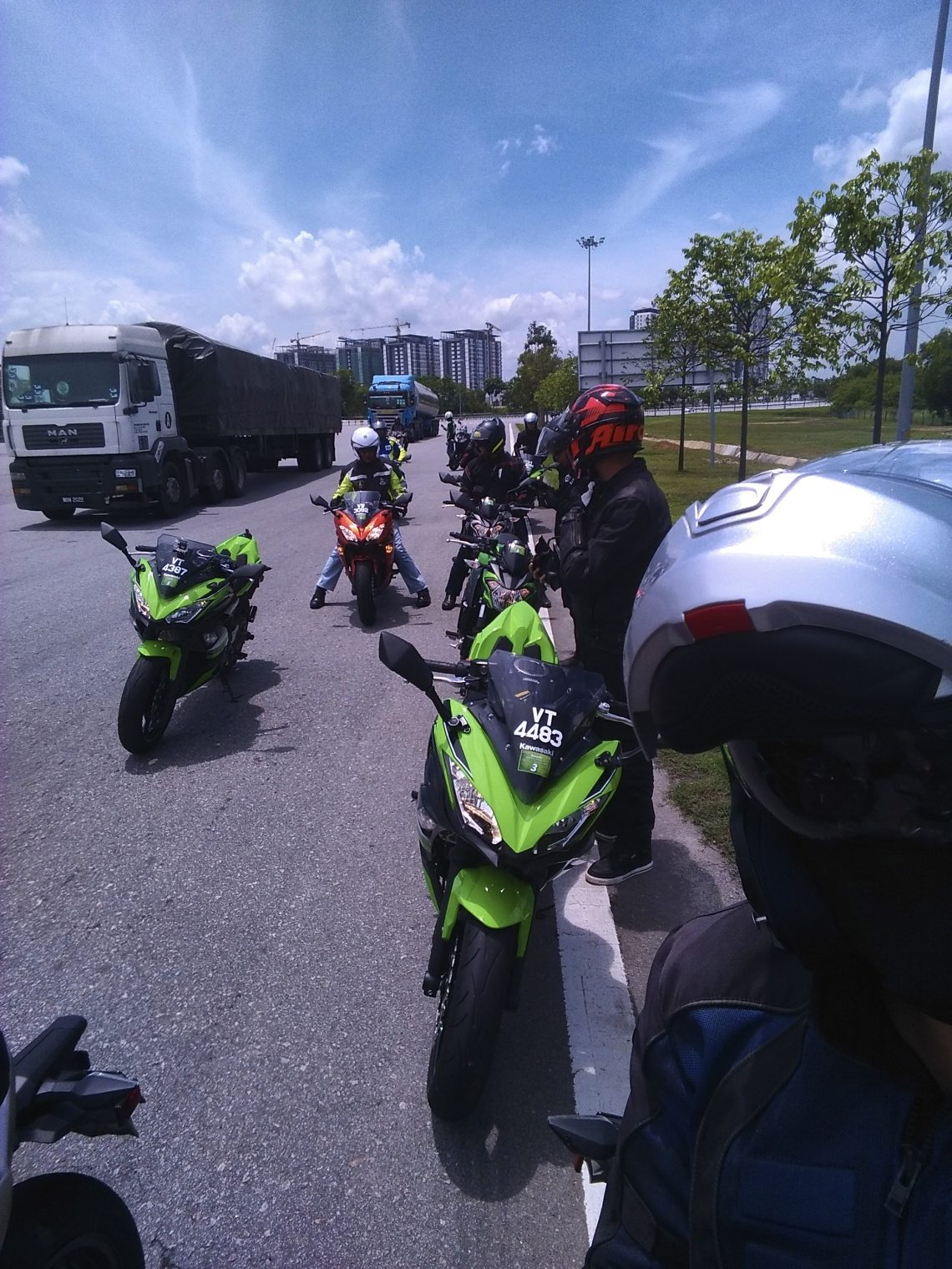 Kawasaki Ninja 650 Z650 Media Test Ride World Tour Rider